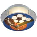 Sports Semi-Flush Light, Flush Mount | Flush Mount Lighting | ABaby.com