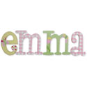 Emma Whimsical Style Letters, Customized Wall Letters | Childrens Wall Letters | ABaby.com