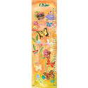 Exotic Butterflies Growth Chart, Kids Growth Chart | Growth Charts For Girls | ABaby.com
