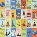 Exploring The World Stretched Art, Nursery Wall Art | Learning Fun Wall Art | ABaby.com
