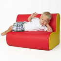 Foam Cloud Sofa, Kids Chairs | Personalized Kids Chairs | Comfy | ABaby.com