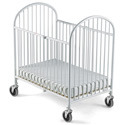 Pinnacle Compact Size Folding Crib, Commercial Daycare and Pre-School