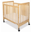 Safetycraft Compact Size Crib, Antique Baby Crib | Cradle | Designer Convertible Cribs | ABaby.com