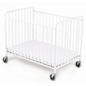 StowAway Compact Size Steel Folding Crib, Commercial Daycare and Pre-School