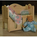 Little Dreams Doll and Crib, Baby Doll House | Accessories | Doll Furnitutre Sets
