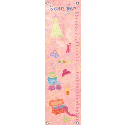 Fashion Plate Growth Chart, Paris Posh Nursery Decor | Paris Posh Wall Decals | ABaby.com