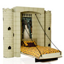 Knights in Shining Armor Castle Wall Bed, Prince & Princess Themed Cribs | Prince & Princess Beds | aBaby.com