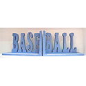 Baseball Script Bookends, Sports Themed Nursery | Boys Sports Bedding | ABaby.com