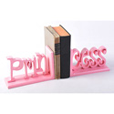 Princess Script Bookends, Baby Bookends | Childrens Bookends | Bookends For Kids | ABaby.com