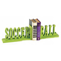 Soccer Ball Bookends, Sports Themed Nursery | Boys Sports Bedding | ABaby.com