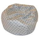 Polka Dot Child Bean Bag, Kids Bean Bag Chairs | Kids Chairs | ABaby.com