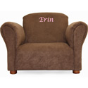 Personalized Kids Microsuede Chair