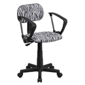 Zebra Desk Chairs With Arms, African Safari Themed Toys | Kids Toys | ABaby.com