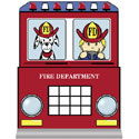 Fire Engine Twin Bed, Fireman Themed Nursery | Fireman Bedding | ABaby.com