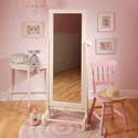 Scalloped Framed Floor Mirror, Baby Nursery Mirrors | Decorative Mirror | ABaby.com