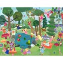 Forest Fairies Artwork, Kids Wall Murals | Oversized Artwork | ABaby.com