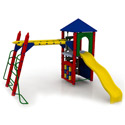 Fort Columbus Playground Set, Kids Swing Sets | Childrens Outdoor Swing Sets | ABaby.com