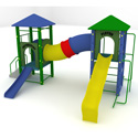 Fort Davis Playground Set, Kids Swing Sets | Childrens Outdoor Swing Sets | ABaby.com