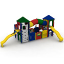 Fort Gadsen Playground Set, Kids Swing Sets | Childrens Outdoor Swing Sets | ABaby.com