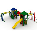 Fort Lafayette Playground Set, Outdoor Toys | Kids Outdoor Play Sets | ABaby.com