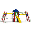 Fort Nelson Playground Set, Kids Swing Sets | Childrens Outdoor Swing Sets | ABaby.com