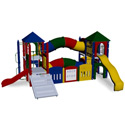 Fort Runyon Playground Set, Kids Swing Sets | Childrens Outdoor Swing Sets | ABaby.com