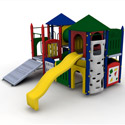 Fort Sumter Playground Set, Kids Swing Sets | Childrens Outdoor Swing Sets | ABaby.com