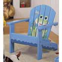 Toddler's Frog Porch Chair, Kids Play Chairs | Personalized Kids Chairs | ABaby.com