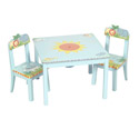 Safari Table & Chair Set, African Safari Themed Nursery | African Safari Bedding | ABaby.com