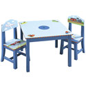 Transportation Table and Chair Set, Train And Cars Themed Toys | Kids Toys | ABaby.com