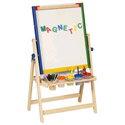 4-In-1 Flipping Floor Easel, Creative Play | Creative Toddler Toys | ABaby.com