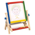 4-In-1 Flipping Table Easel, Creative Play | Creative Toddler Toys | ABaby.com
