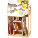 Book Trolley, Baby Bookshelf | Kids Book Shelves | ABaby.com