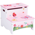 Butterfly Buddies Storage Step Up, Butterfly Themed Toys | Kids Toys | ABaby.com