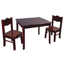 Classic Children's Table & Chair Set, Kids Table & Chair Sets | Toddler Tables | Desk | Wooden