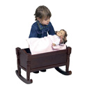 Precious Doll Cradle, Baby Doll Furniture Sets | Baby Doll Cradle | ABaby.com