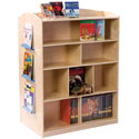 Double Sided Bookcase, Baby Bookshelf | Kids Book Shelves | ABaby.com