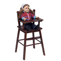Precious Doll High Chair, Baby Doll House | Accessories | Doll Furnitutre Sets