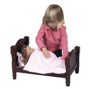 Precious Doll Bed, Baby Doll House | Accessories | Doll Furnitutre Sets