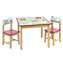 Farm Friends Table and Chair Set, Farm Animals Themed Toys | Kids Toys | ABaby.com