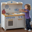 Hideaway Country Kitchen, Kids Play Kitchen Sets | Childrens Play Kitchens | ABaby.com