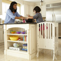 Contemporary Kitchen Helper, Step Stools For Children | Kids Stools | Kids Step Stools | ABaby.com