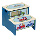 Moving All Around Storage Step Up, Train And Cars Themed Toys | Kids Toys | ABaby.com