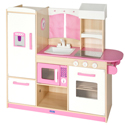 Play Along Pink Kitchen, Kids Play Kitchen Sets | Childrens Play Kitchens | ABaby.com