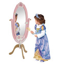 Princess Floor Mirror, Princess Nursery Decor | Princess Wall Decals | ABaby.com