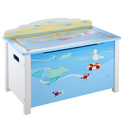 Sailing Toy Box, Kids Toy Box | Personalized Toy Chest | Wood Toy Storage Bench | aBaby.com