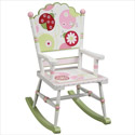 Sweetie Pie Rocking Chair, Butterfly Themed Toys | Kids Toys | ABaby.com