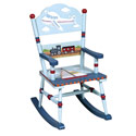 Transportation Rocking Chair, Train And Cars Themed Nursery | Train Bedding | ABaby.com