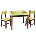 Jungle Party Table and Chairs, African Safari Themed Furniture | Baby Furniture | ABaby.com