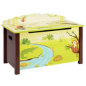Jungle Party Toy Box, African Safari Themed Nursery | African Safari Bedding | ABaby.com